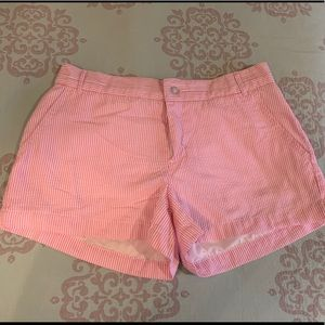 EEUC Lauren James seersucker shorts size 4